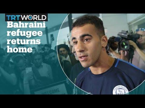 Refugee football player Hakeem al Araibi returns home to Australia