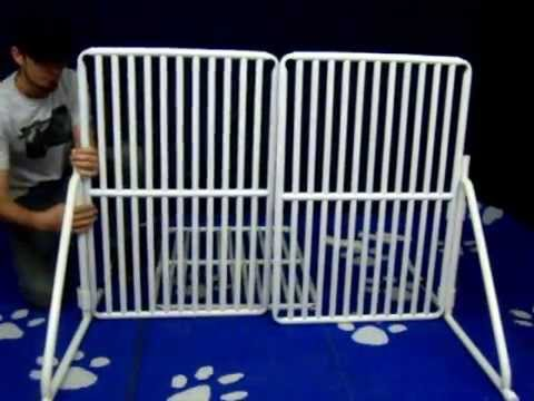 How To Assemble Freestanding Tall Expandable Pet Gate From Rover