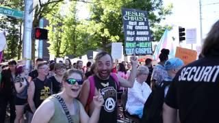 Trans Pride Seattle tells bigot to fuck off