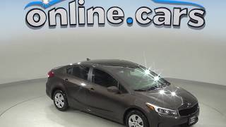 R99421NC Used 2017 Kia Forte LX FWD 4D Sedan Test Drive, Review, For Sale