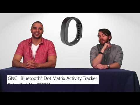 GNC GP-5578 Bluetooth® Dot Matrix Activity Tracker