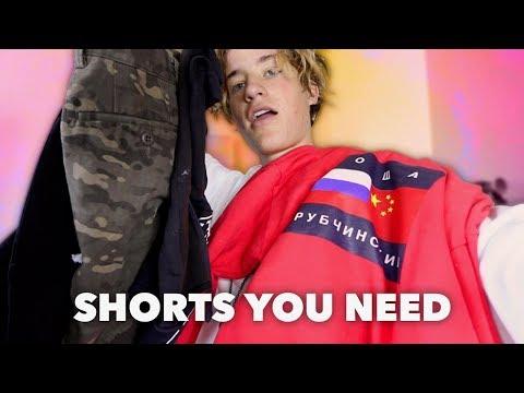 Gosha + Best Shorts For Summer! ☺☺