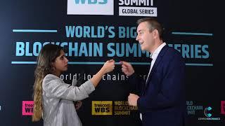 World Blockchain Summit, Interview with Richard Ells by Cryptoknowmics