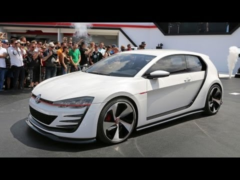 New Volkswagen Vision GTI Revealed 503 HP  YouTube