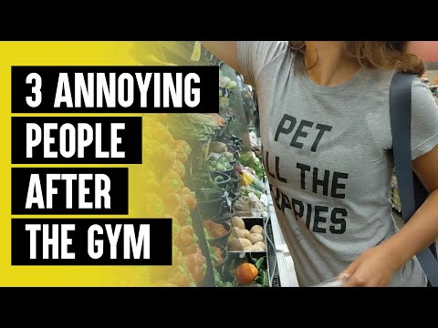 3 Annoying Things People Do After the Gym
