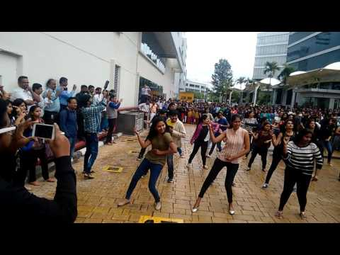 IBM Impulse 2016 Flash MoB -EGL Bangalore