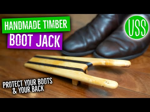 Making a Boot Jack