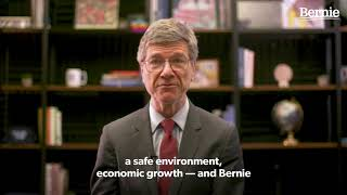 Jeffrey Sachs Endorses Bernie Sanders for President We need to get our country back on track, and Bernie is the leader to do it. Bernie refuses to give in to the big money and corporate power.. -Jeffrey Sachs ..., From YouTubeVideos
