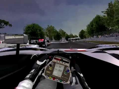 GTR2 AUDI R15 TDI in Le Mans by csori