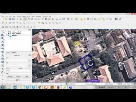 Cara Membuat Peta Raster di Quantum GIS dan Menampilkan di Web GIS