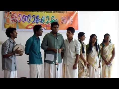 Chingam pu..onam song-onapattu  by SNGIST CSE Group (Malayalam Song,onam songs malayalam)