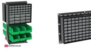 Akro-Mils Plastic Storage Cabinet Brackets