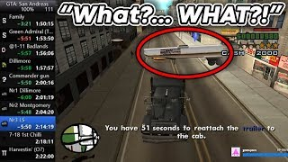 This is why you should never Speedrun GTA: San Andreas  |  WTF In Speedrunning #7