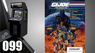 G.I. Joe: A Real American Hero [099] Arcade Longplay/Walkthrough/Playthrough (FULL GAME)