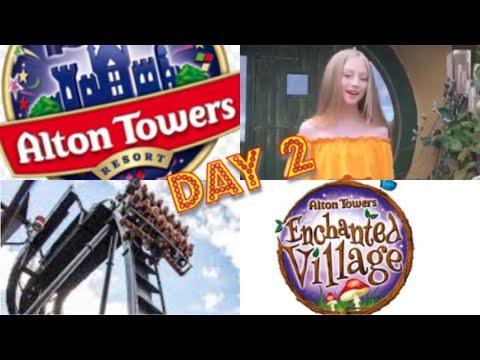 ALTON TOWERS VLOG 2 / ENCHANTED VILLAGE HOTEL / THEME PARK