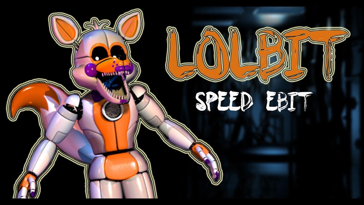 [FNAF | Speed Edit] Making Lolbit