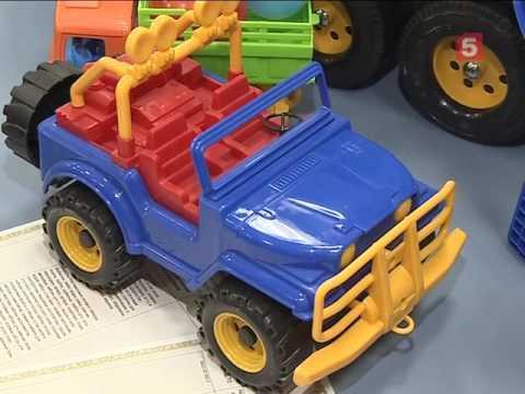 Пластиковая игрушка