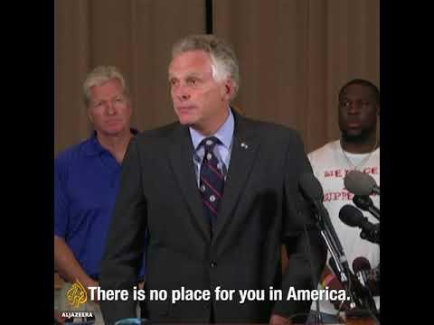 Virginia Governor slams white supremacists in Charlottesville
