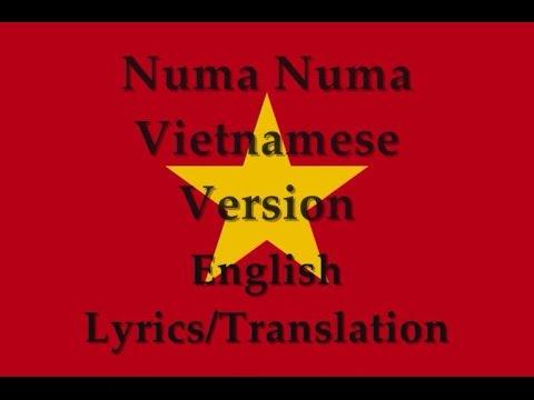 Numa Numa Vietnamese Version (Người tình Mai Ya Hee) English Lyrics/Translation