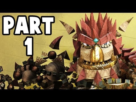 Let's Play Knack #01 Deutsch PS4 Gameplay - Ein wundersames Wesen