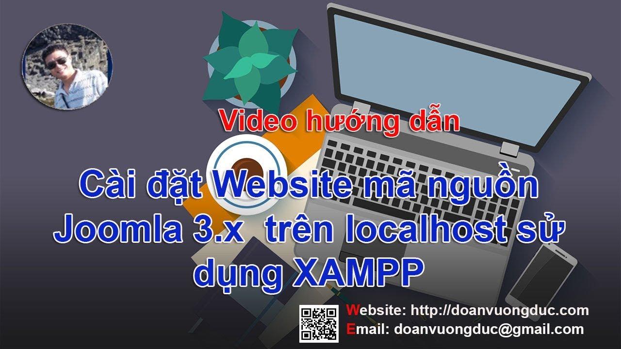 Hướng dẫn cài đặt Joomla trên Localhost sử dụng XAMPP