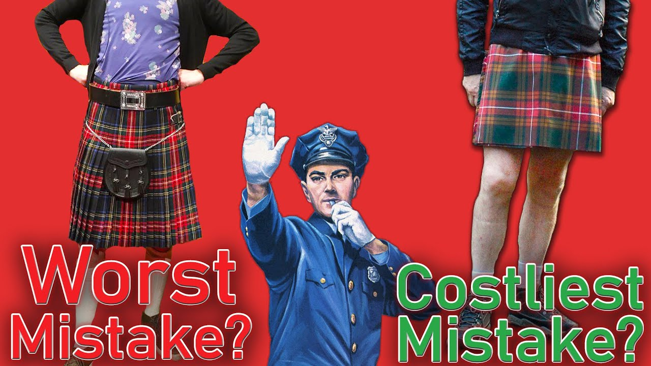 Download WORST Newbie Mistakes Getting Your First Kilt? Be careful when you buy a kilt!