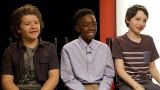 Stranger Things: Finn Wolfhard, Gaten Matarazzo and Caleb McLaughlin Freak Out Over Walkie-Talkies