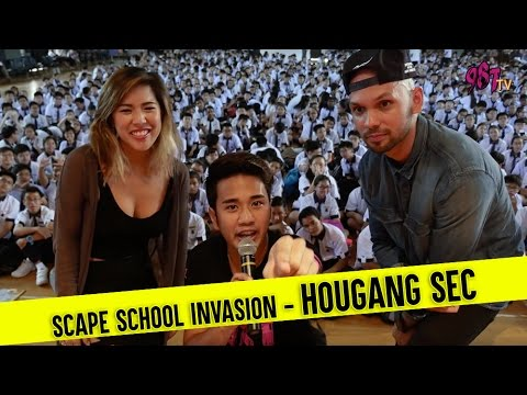 *SCAPE School Invasion - Hougang Secondary School