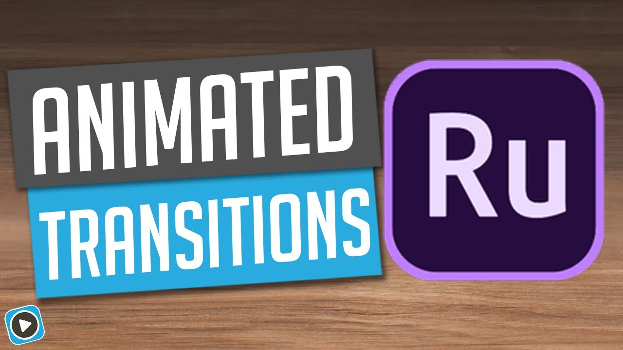 Adobe Premiere Rush – Animated Transitions