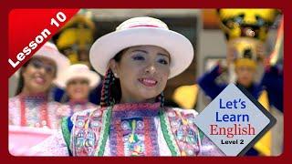 [VOA 영어교실] 페루 문화 행사에 간 아나, 소원을…