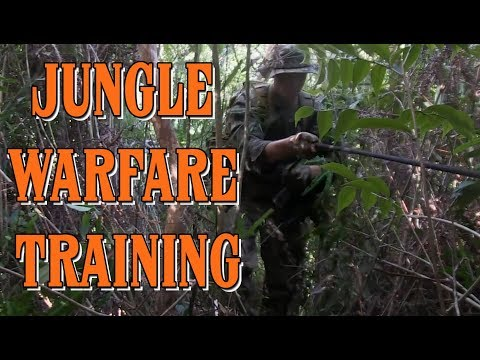 Jungle Warfare Training