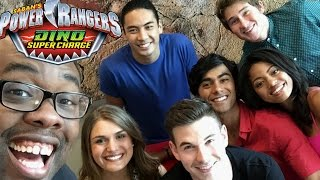 POWER RANGERS Dino Charge / SuperCharge CAST INTERVIEW