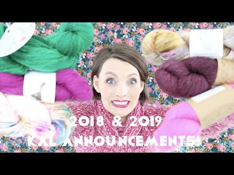 Kristy Glass Knits: KAL Announcements and YARN HAULS