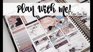 "Plan With Me! ft. Paper Dove Shop ""Dalia"""