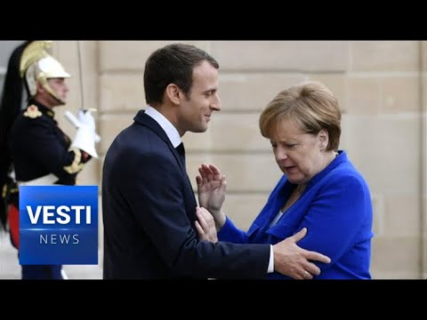 Macron Betrays Merkel For Trump! Paris Comes Out Against Germany, Opposes Nord Stream 2!