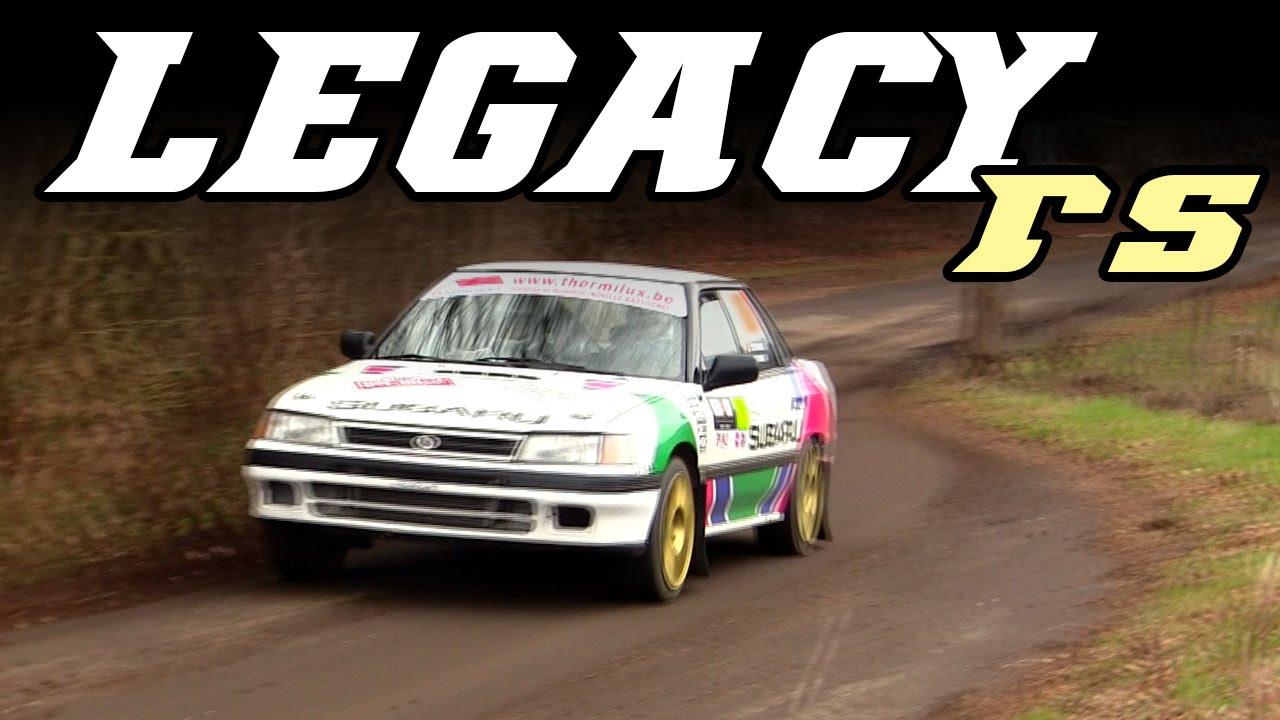 Subaru Legacy Rs At Spa Rally 2016 Youtube