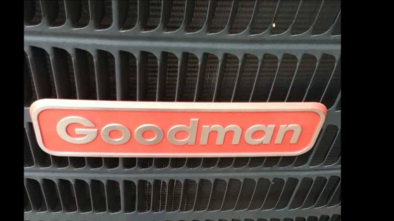 goodman 4 ton ac. August 4, 2012 REVISTED 2010 Goodman 4 Ton GSX13 Air Conditioner Running In COOL Mode! Ac