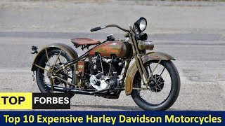 Top 10 Expensive Harley Davidson Motorcycles