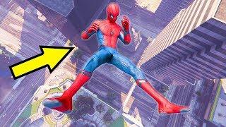 SPIDERMAN • GTA 5 Spiderman Falls, Fails/ Children's Antics Spiderman/ Funny Moments