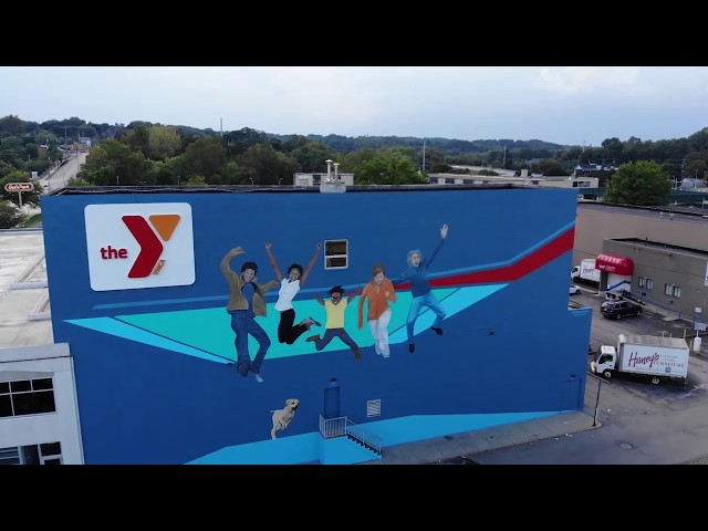 YMCA + HOYT Mural - The Color Dreamers