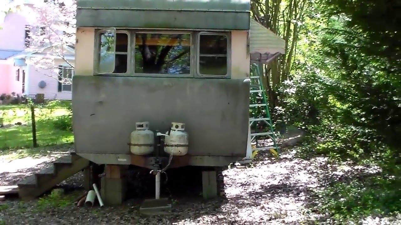 1955 General 4 Star vintage trailer home, mobile home on