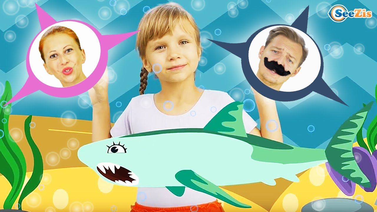 Baby Shark Song Nursery Rhymes For Children With Baby Songs Youtube