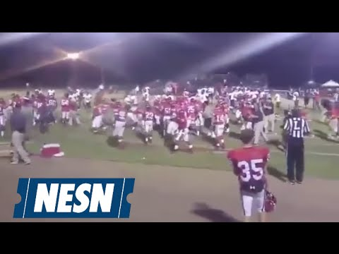 Huge Brawl Erupts During Junior College Football Game In Mississippi
