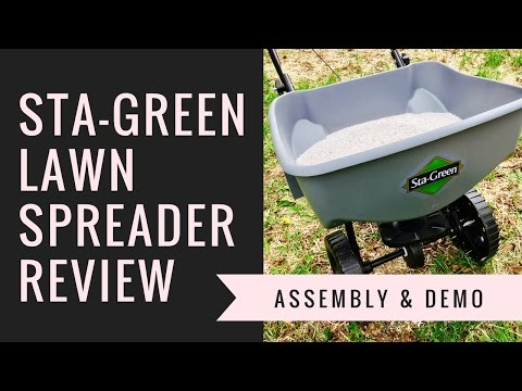 Sta Green Broadcast Lawn Spreader Review You