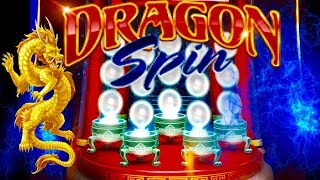 ★MAX BET★ DRAGON SPIN SLOT MACHINE BONUS★BIG WIN LINE HITS ★CASINO GAMBLING! FOUR WINDS CASINO!