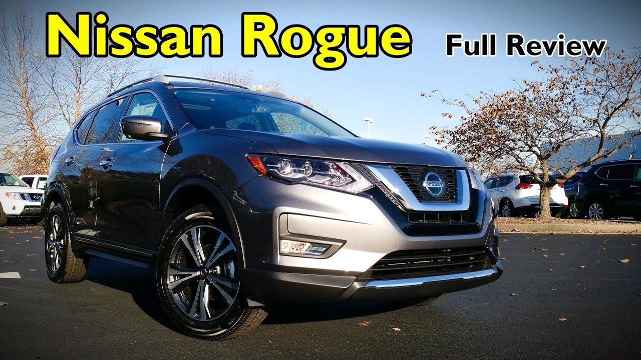 2018 Nissan Rogue Full Review Sl Sv Midnight Edition S