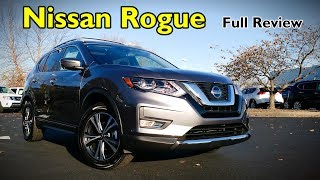 2018 Nissan Rogue: Full Review | SL, SV, Midnight Edition & S