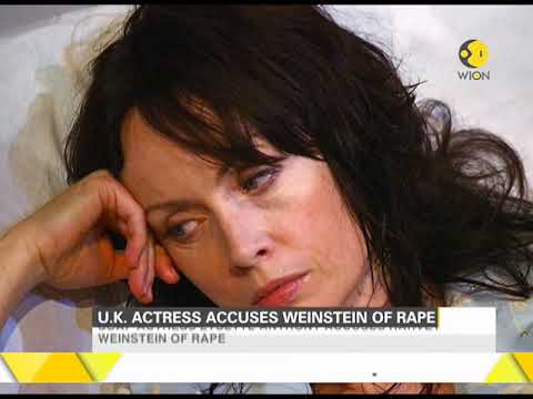 Another actress accuses Harvey Weinstein of rape