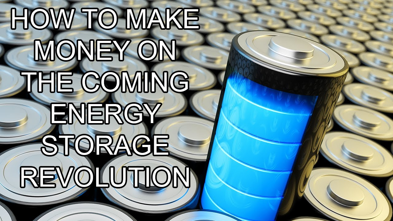 Making Money From Renewable Energy Storage