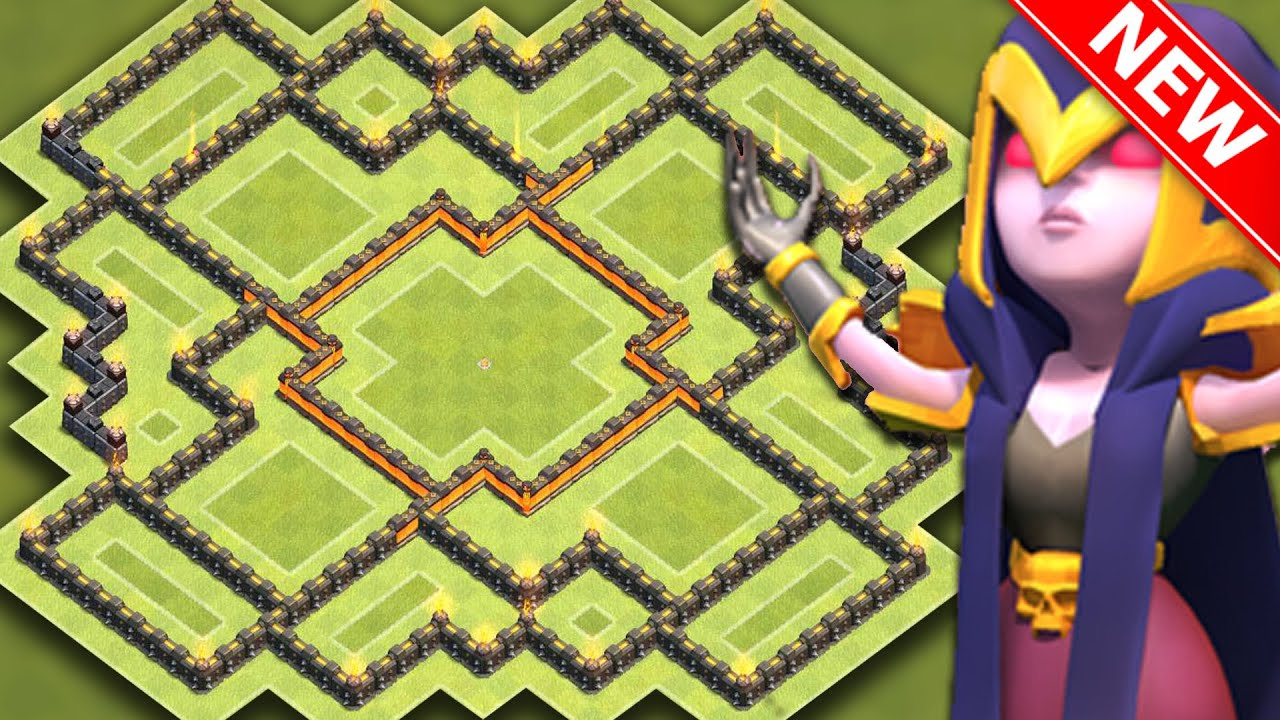 Clash Of Clans NEW INSANE TH HYBRID BASE FOR NEW UPDATE